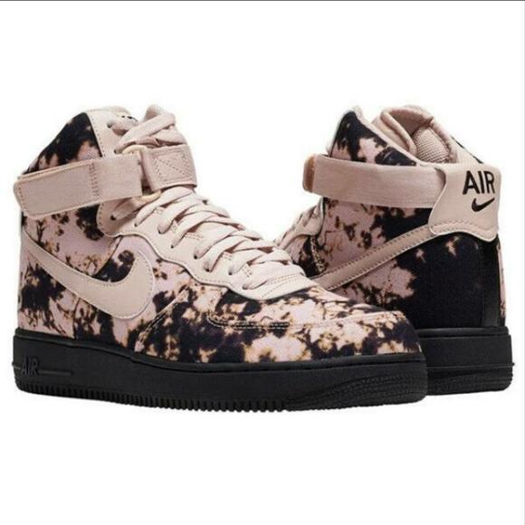 Mens Nike Air Force 1 High Acid Wash